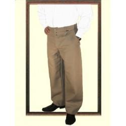 Pantalon 1/2 ballon lin à passants